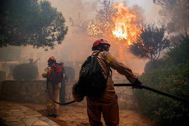 Zahl der Waldbrandopfer in Griechenland steigt dramatisch an