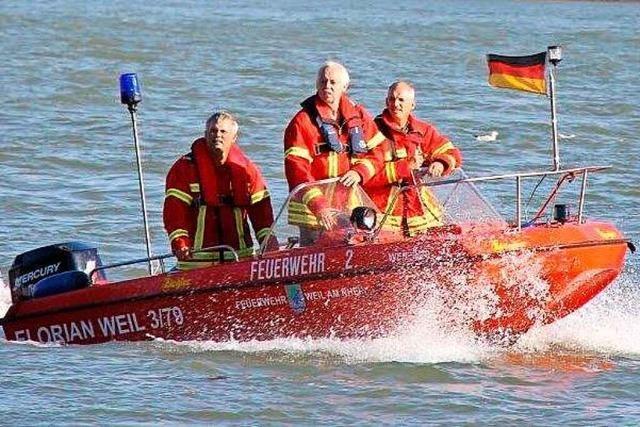 Großeinsatz auf dem Rhein: Junger Mann beim Baden vermutlich ertrunken