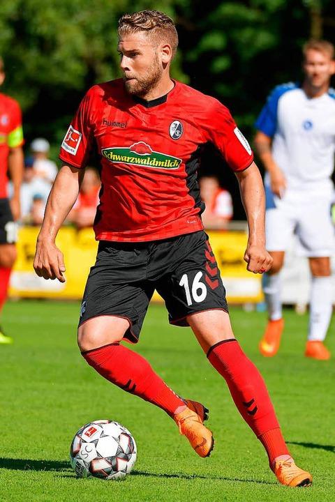 Yoric Ravet wird  für einige Zeit keinen Ball mehr am Fuß haben.   | Foto: keller