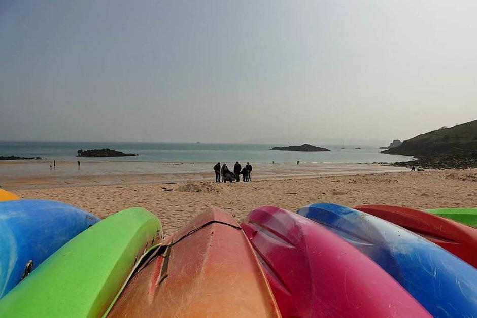 Meer-Platz für alle: Bucht auf Herm (Foto: Ronja Vattes)