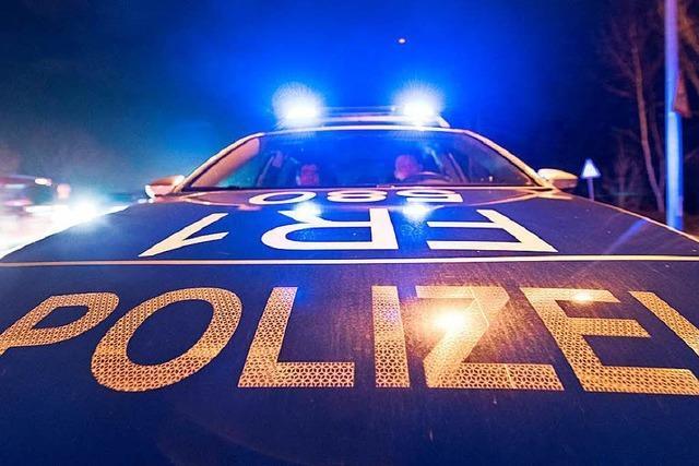Renitent bei der Polizeikontrolle