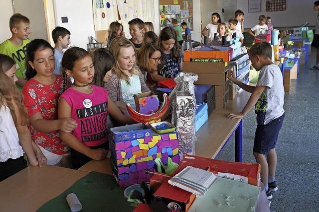 Schülerideen für die neue Grundschule