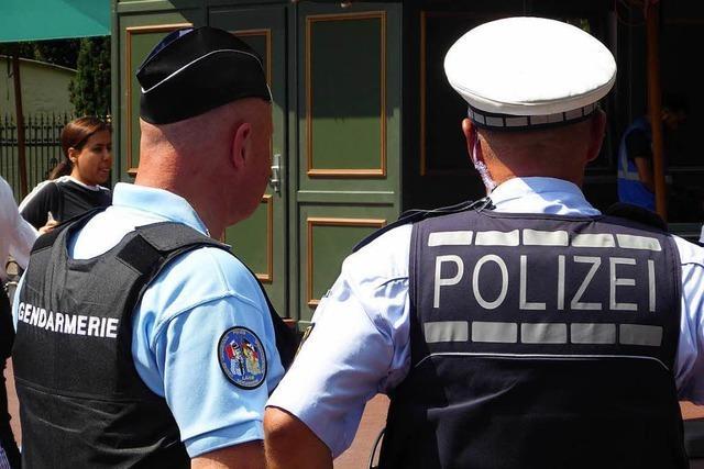 In Rust gehen deutsche und französische Polizisten jetzt zusammen auf Streife