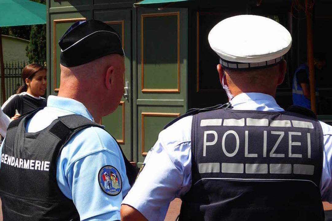Zusammen auf deutsch-französischer Str...k Aichholzer (links) und Oliver Gremm.  | Foto: franz Schmider