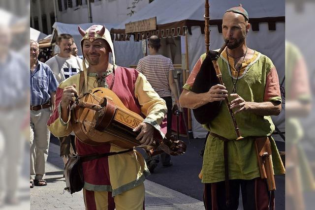 Das 9. Historische Marktplatzfest