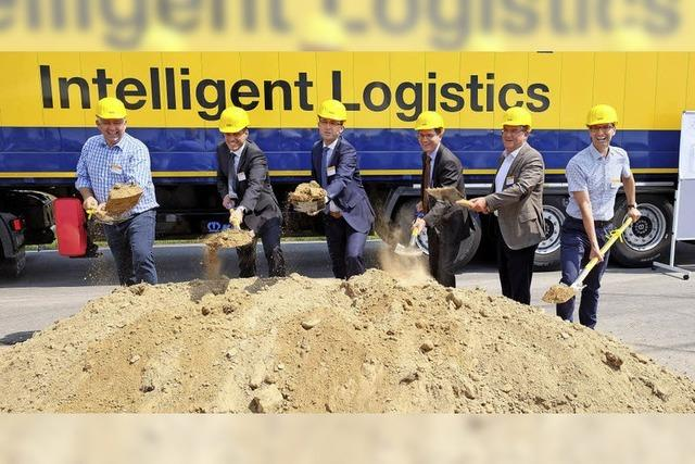 Logistikzentrum entsteht