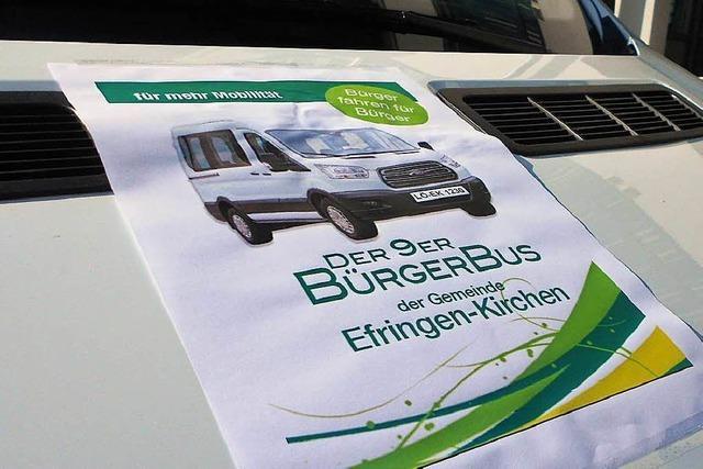Preisverdächtiger Bürgerbus – Team hofft auf viele Onlinestimmen