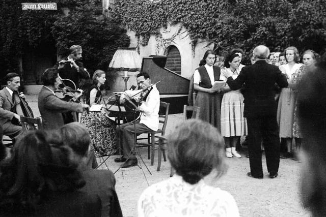 70 Jahre Staufener Musikwoche: Ein kleines irdisches Arkadien