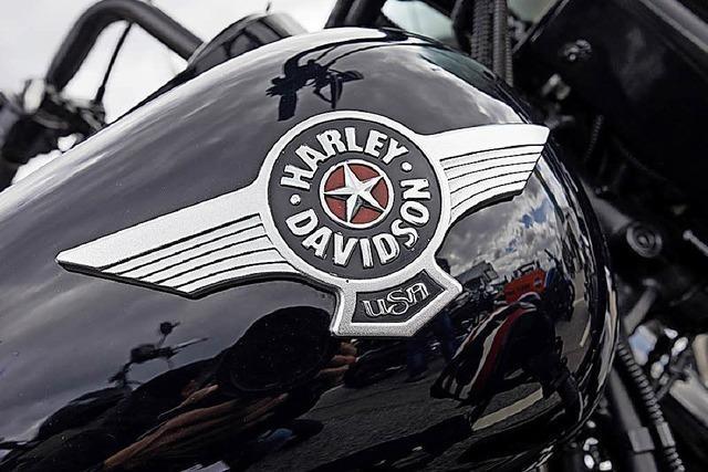 Harley-Davidson spürt schon den Handelsstreit