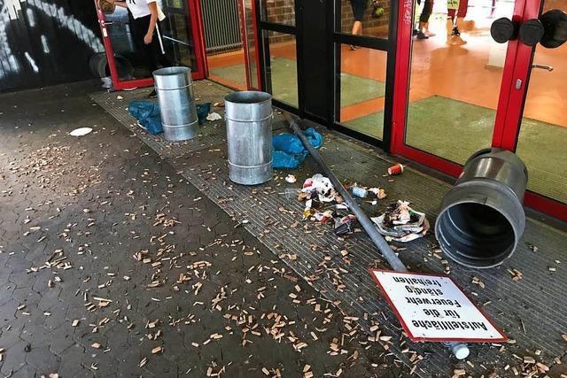 Vandalismus an Müllheimer Schulen – Stadt setzt Belohnung zur Ergreifung der Täter aus