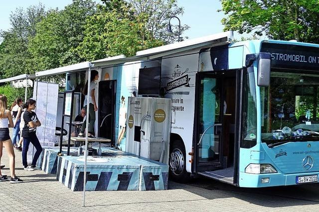 Berufsorientierung im Bus