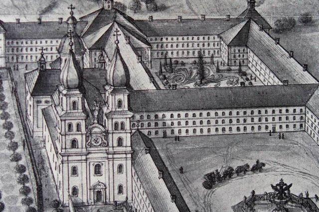Vor 250 Jahren zerstörte ein Feuer das barocke Münster in St. Blasien
