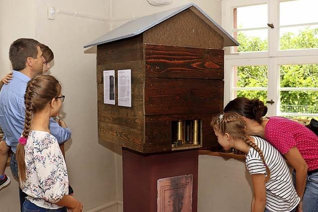 Ausstellung ergänzt mit Münzschatz und Eichhiisli
