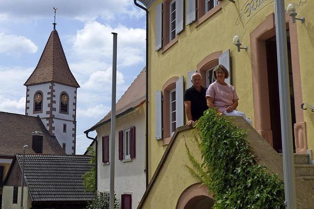 Offene Tür im neuen evangelischen Pfarrbüro