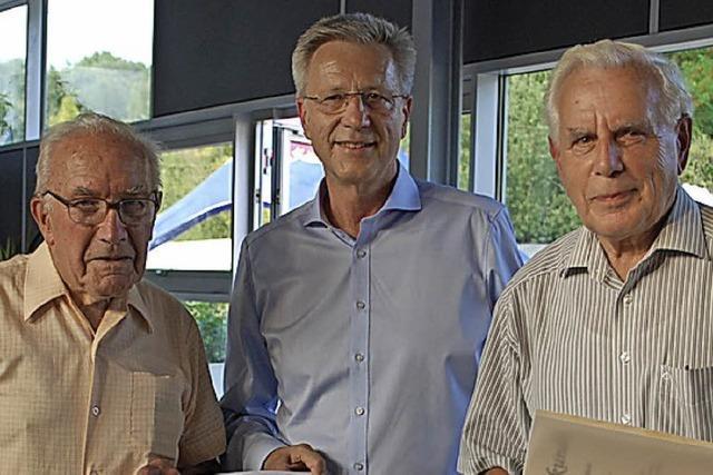 Zusammen 105 Jahre Treue zur CDU