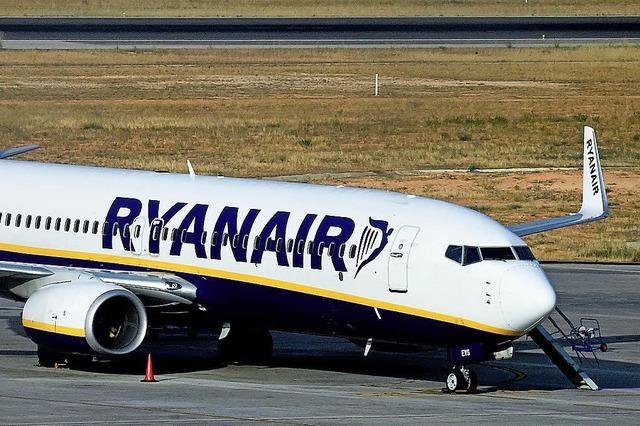 Ryanair droht streikenden Mitarbeitern mit Verlagerung