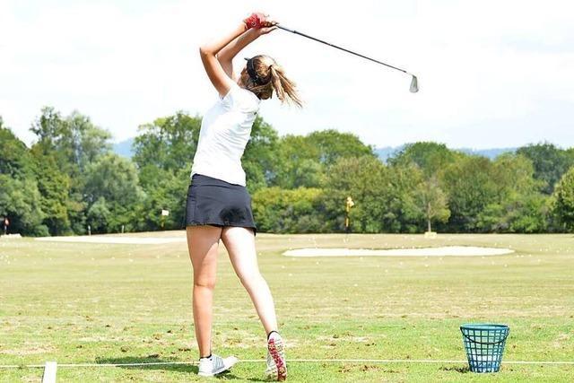Auf dem Golfplatz mit den größten Nachwuchs-Talenten Südbadens