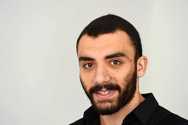 Abdullah Rahhal aus Syrien hat sein Abi und eine Auszeichnung in der Tasche