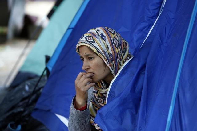 Flüchtlinge aus Afghanistan stecken im Norden Bosniens fest