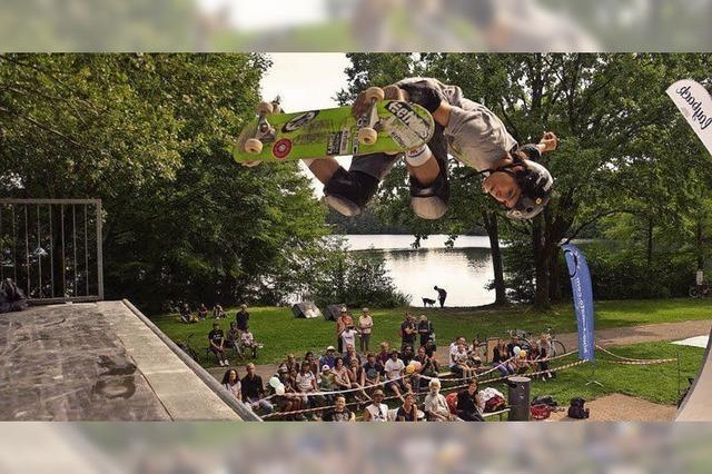 Skateboard- und Inliner-Contest am Moosweiher