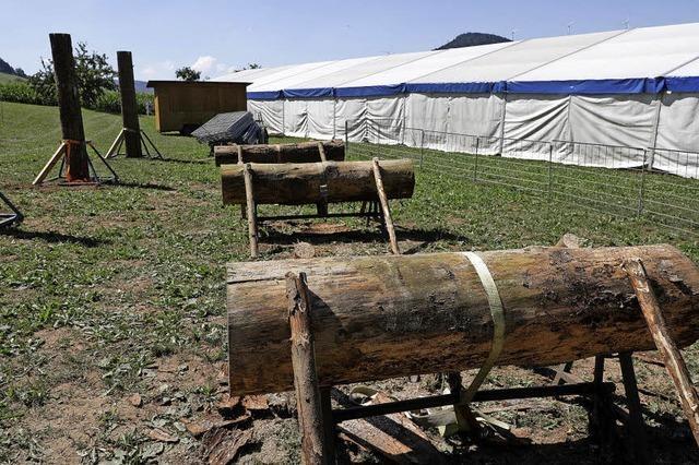 40. Holzfällermeisterschaften in Schuttertal