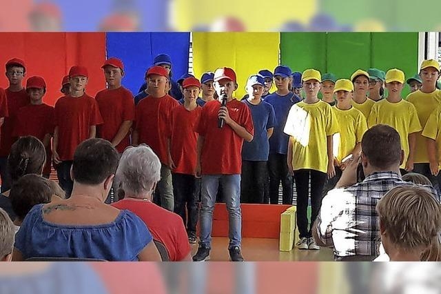 Farbenfrohes Musical