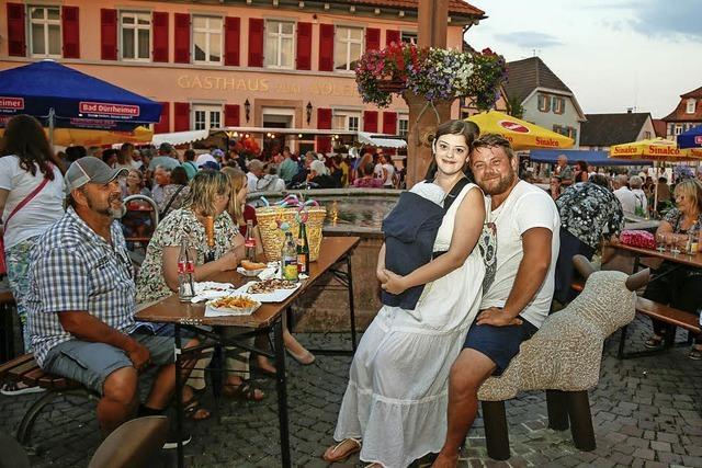 Ettenheim feiert nach Feierabend