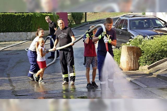 Sommerspaß mit der Feuerwehr
