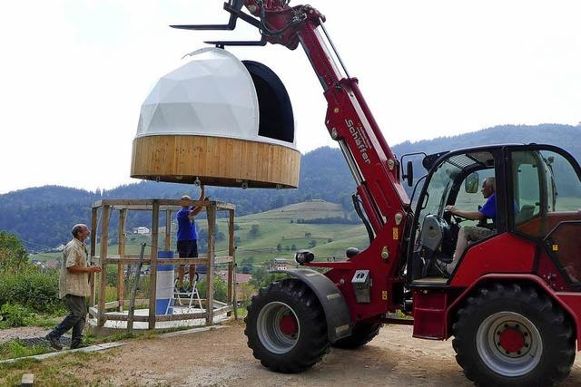 Marzeller Sternwarte erhält eine Kuppel