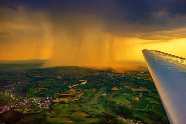 Dies ist vielleicht der schönste Regenschauer dieses Sommers!