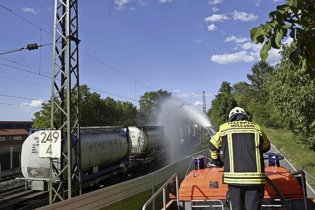 Üble Gerüche in Rheinweiler lösen Gefahrguteinsatz aus