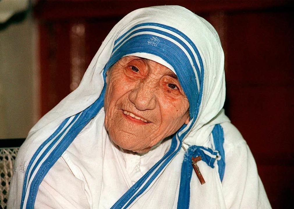 Mutter Teresa  | Foto: dpa