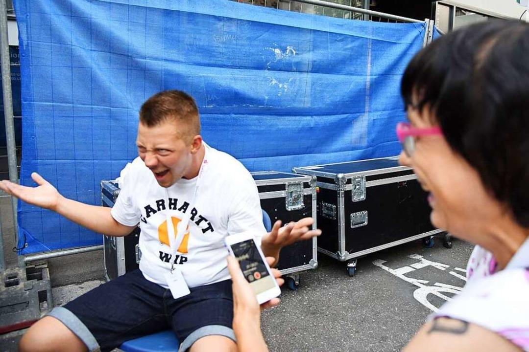 """""""So what? Wir standen auf der Stimmen-Bühne?!""""    Foto: Dorothee Soboll"""