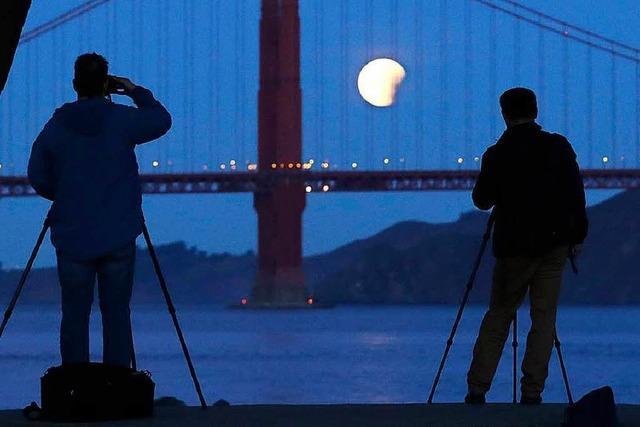 So lässt sich der Mond am besten fotografieren