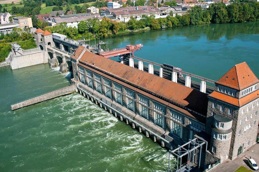 Das Wasserkraftwerk in Laufenburg.  | Foto: Energiedienst Holding AG