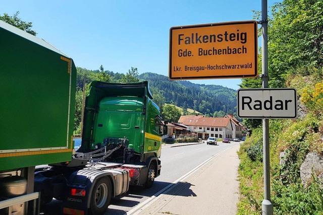 Tempo 30 in Falkensteig beantragt – wegen Lärmschutz