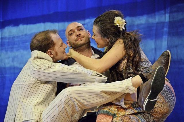 Theater Baal novo gastiert während der Riedwoche im Löwen Ichenheim