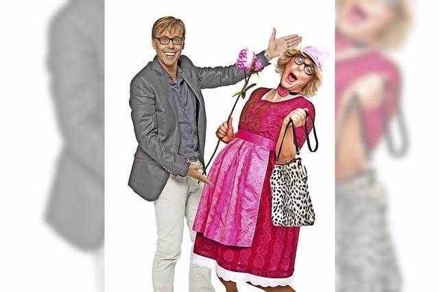 Hansy Vogt und Frau Wäber in Neuenburg