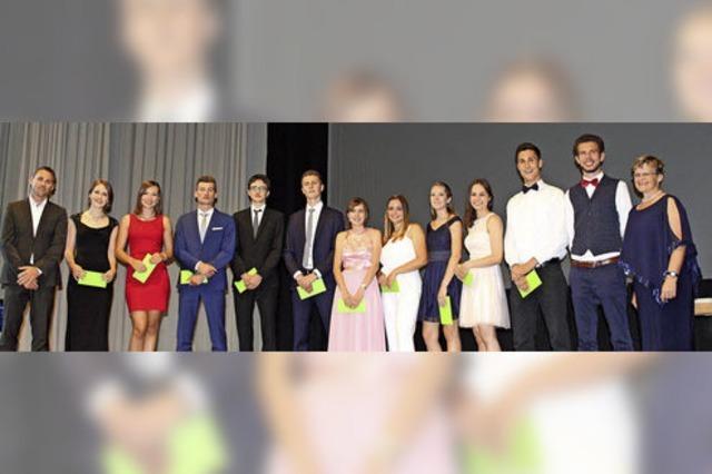 Festlicher Abschied für 66 Abiturienten
