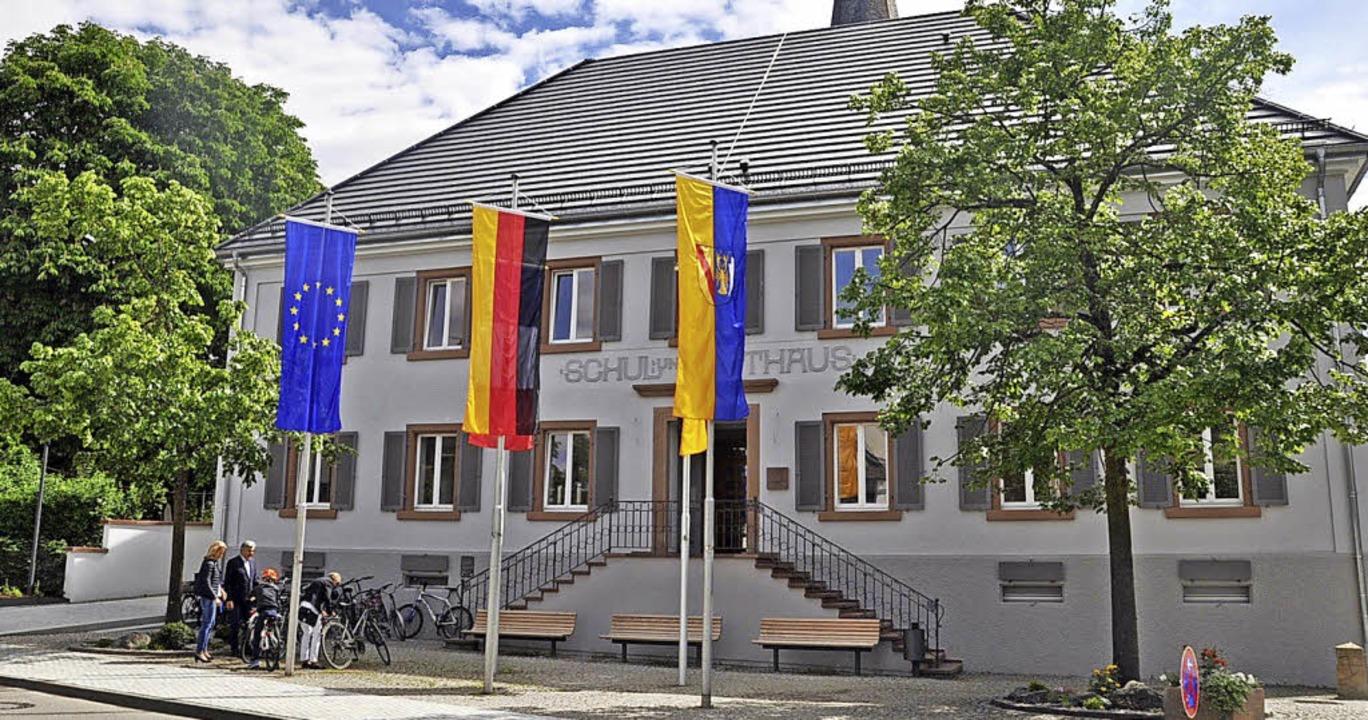 Für das umgebaute Rathaus  in Vörstetten  gibt es einen Preis.     Foto: Geisler