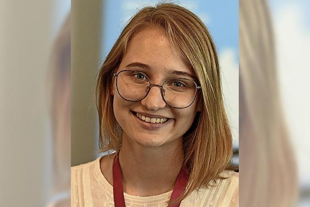 Diana Panevska war bei der Deutscholympiade ganz vorne mit dabei