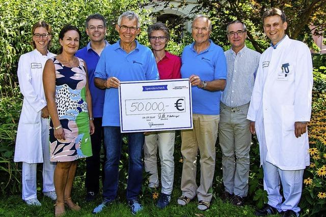 50 000 Euro für die Kinderklinik