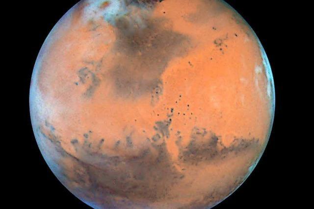 Wie lange braucht man für den Flug zum Mars?