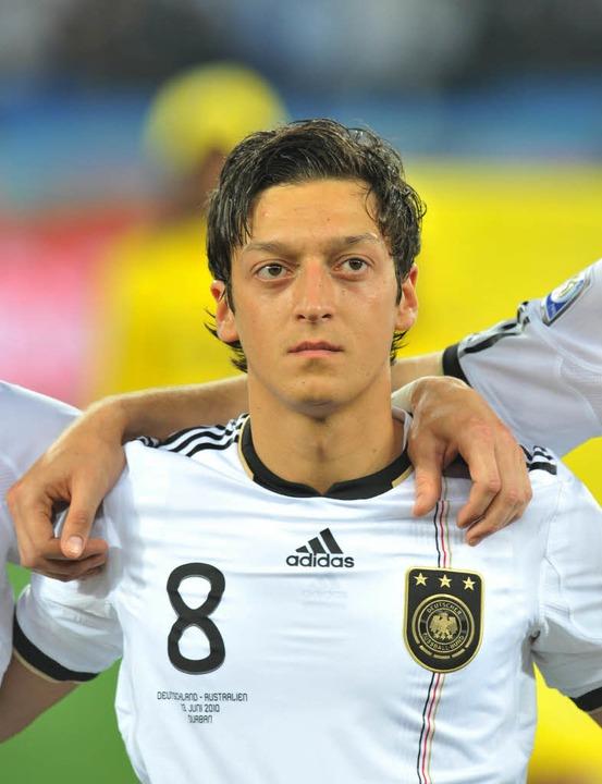 Özil bei der WM 2010.  | Foto: dpa