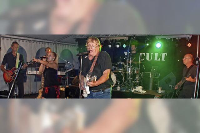 XX Cult rockt mit rund 1000 Besuchern beim Stadtgartenfest