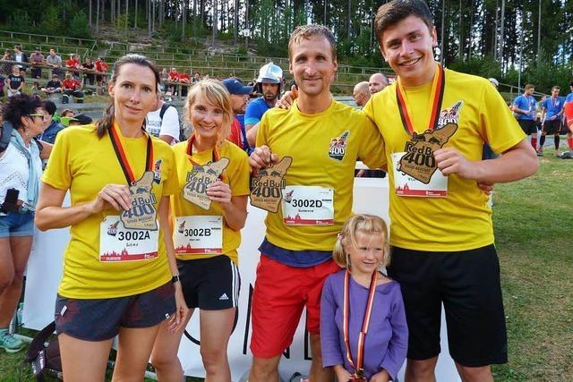 Schanzenlauf in Neustadt – BZ-Team holt den Sieg in der Mixed Staffel