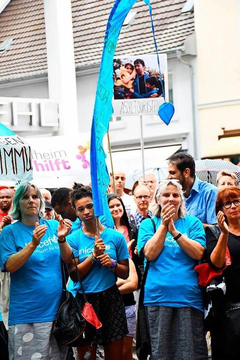 Teilnehmer kamen auch von Unicef.  | Foto: Barbara Ruda