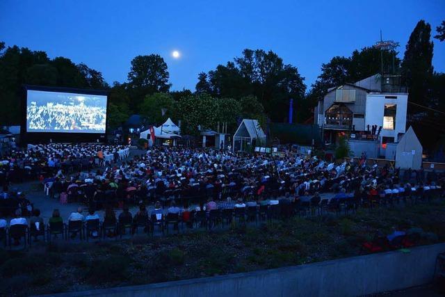 Kieswerk Open Air in Weil am Rhein: Lauschige Nächte mit Kino und Kunst