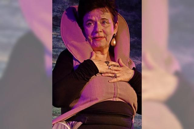 Die Queen des Solotheaters in gefühlt 100 Rollen