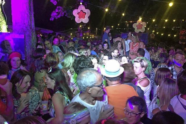 Rund 1000 Schlagerfreunde feiern